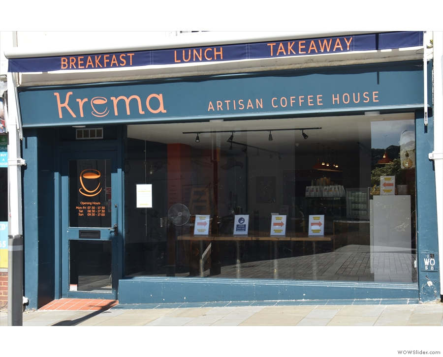 At the end of May, I was walking past Krema Coffee Guildford, when something...