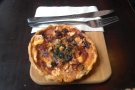And finally, the goat's cheese tart I had for lunch.