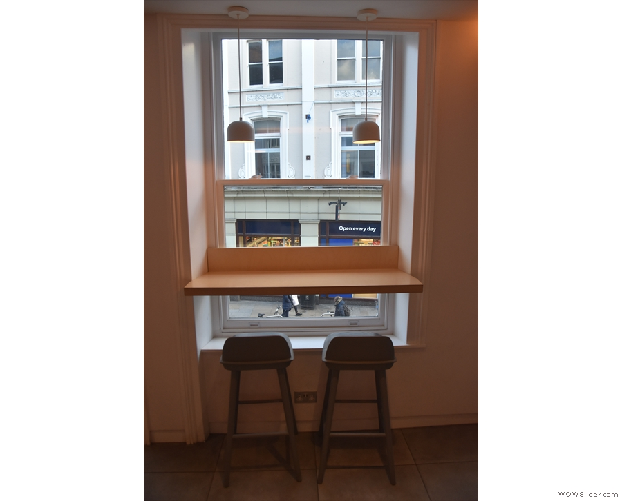 ... make the cut, although its upstairs window-bar seems ideal (albeit with one stool).