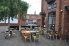 Outdoor seating will have a role to play (the example is from St Martin's again)...