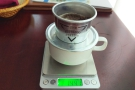 Still, I was able to practice with my newly-acquired Vietnamese cup-top filter.