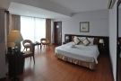 My hotel room in Huế, very nice but rather excessive for just one night!