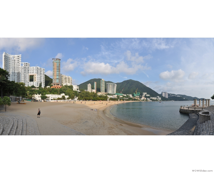 ... while this is the magestic sweep of Repulse Bay, both on the south of the island.