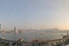 Unexpectedly, despite booking a city-view room, I got this glorious harbour view.