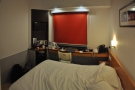 My room, on the 17th floor, small, but perfectly functional. And very comfortable.