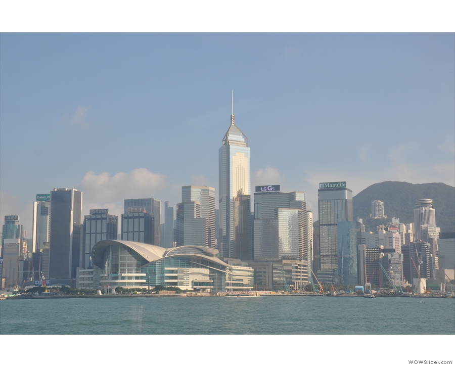 The views are amazing. The other Star Ferry pier's at Wan Chai, by the Conference Centre.