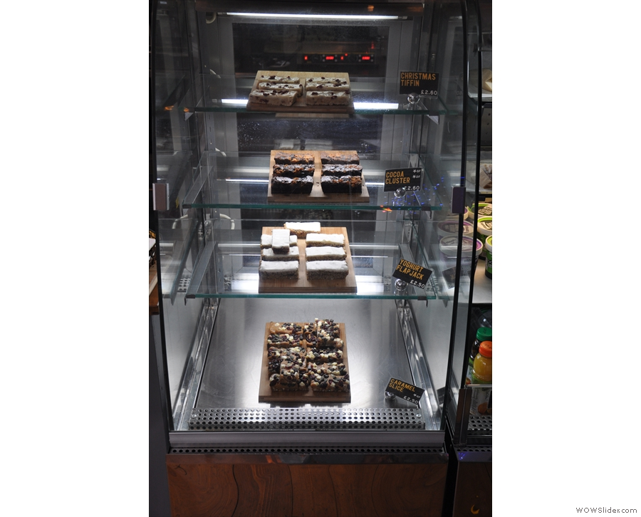 ... and yet more cake in this cabinet.