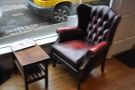 ... and one of two lovely armchairs (I was sitting in the other one).
