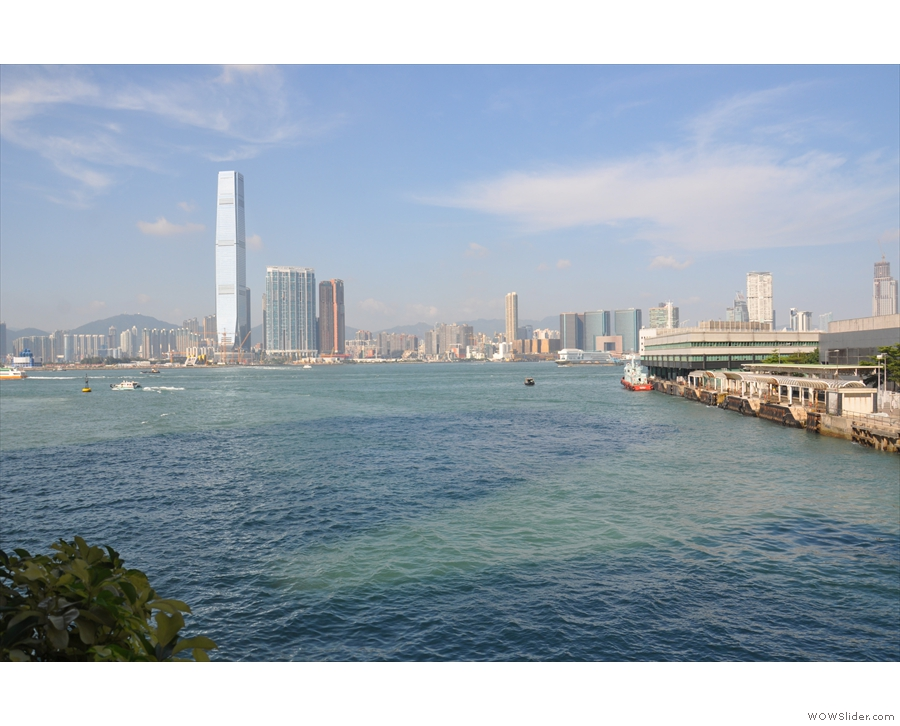 My starting point in Central was often down by the harbour and the Star Ferry terminal.