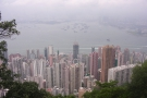 ... while this is the view over Sai Ying Pun and Sheung Wan.