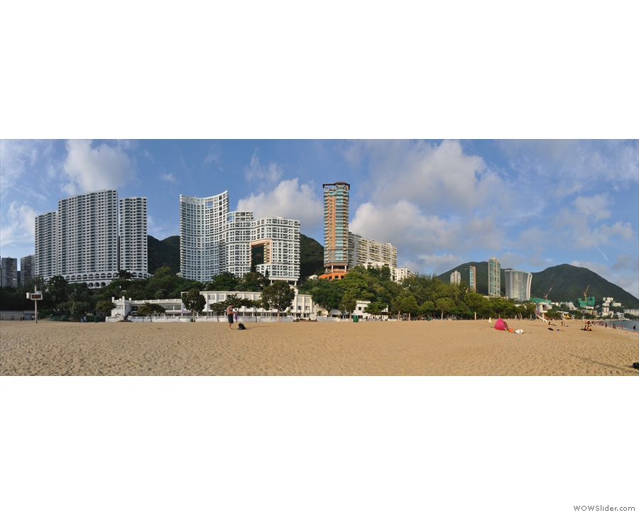 Repulse Bay is home to some very tall buildings.