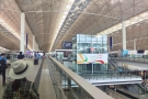 With its soaring halls, Hong Kong airport is one of the nicesst I've had the pleasure of using.