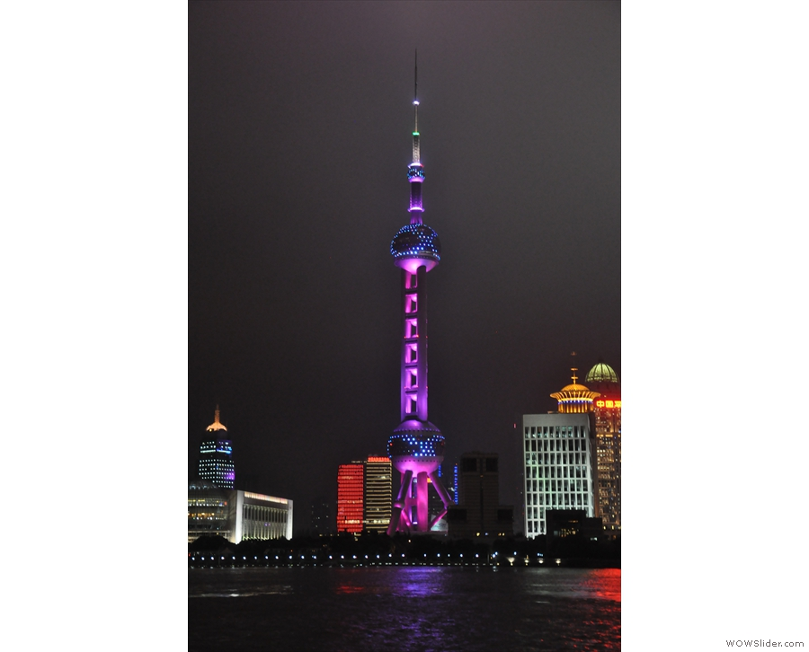 ... as these pictures of the TV tower amply demonstrate.