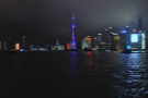 One evening during the week, I managed to take a walk along the Bund...