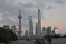 ... north  of the Bund. My first day, a Sunday, was the clearest of my stay until the last...