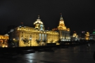In constrast, the colonial architecture on the Bund was more restrained...