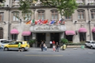 I stayed at the Astor House Hotel, Shanghai's oldest hotel. It's a great location, just...