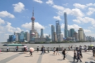 ... from where, on my last day in Shaghai, I had by far the clearest views across the river.