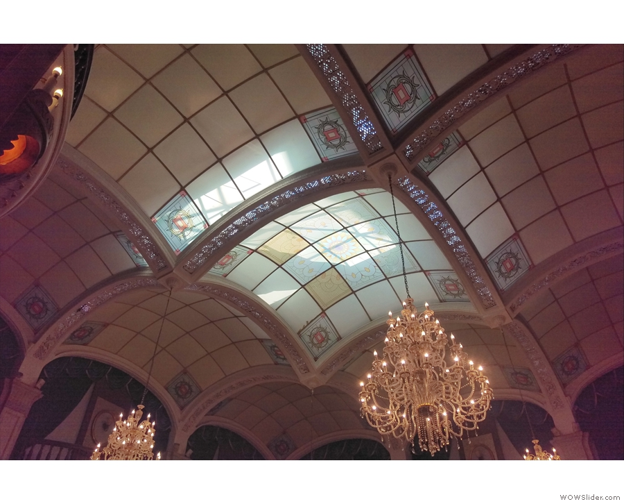 ... get up there) and a lovely, arched glass roof.