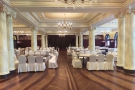 The hotel had plenty of function rooms upstairs, plus this, the second ballroom.