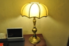 Nice lamp. There was also a tablet in the room, but I didn't use it.