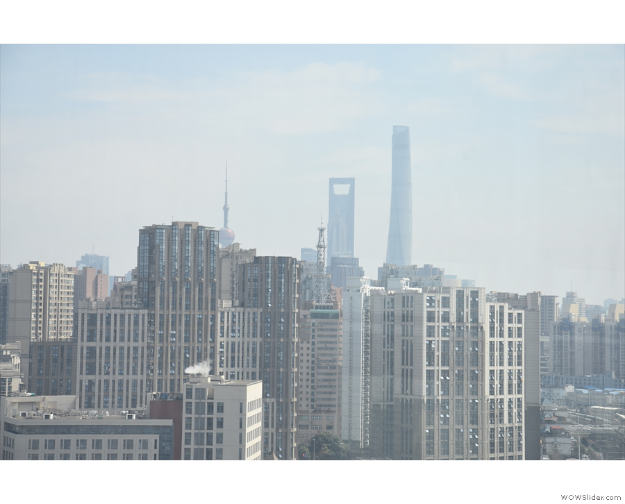 ... Shanghai Railway Station. Even here, the same towers are visible! Again, this is a...