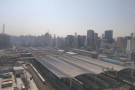 I also liked looking out over Shanghai Railway Station itself...