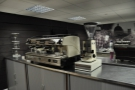 Upstairs is also the home of the training suite. Here, a three-group La Spaziale...