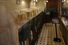 ... and the urinal seating on the left.