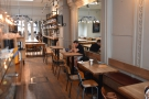 There are other changes. The tables on the right, which used to be single, have been...