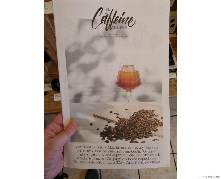 ... including the latest, the Caffeine Magazine broadsheet!