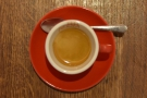 I will leave you with this shot of espresso and cup.