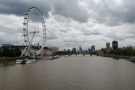 ... with its views of the London Eye and the Houses of Parliament.