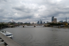 From there, it was back across the river, this time looking towards St Paul's Cathedral...