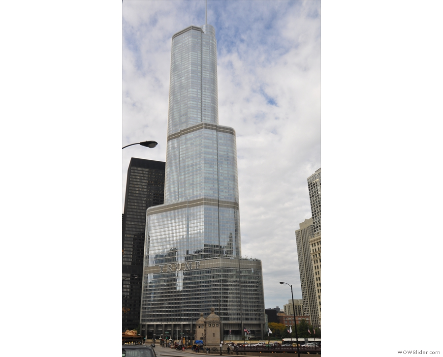 ... some of the city's finest architecture. The Trump Tower is Chicago's second tallest...