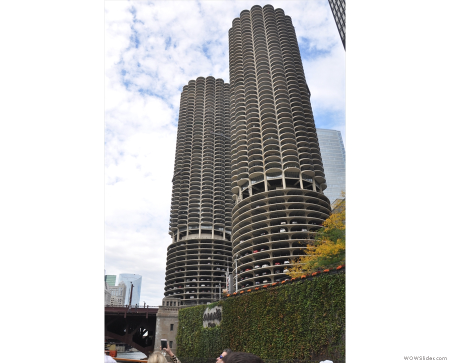 Another favourites, Marina City, which is more often known as the 'corn cobs'.