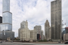 ... where I was dropped off. This is by a bend in the Chicago River, with a collection of...