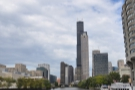 The cruise carries on south, past the southern edge of the Loop and turns around by...