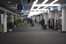 Then it was off down the long corridors to the gate so I could board my plane...