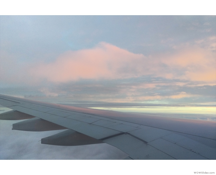 I'm rarely up earlier enough for dawn, and when I am, it's often on flights.
