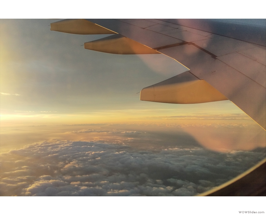 ... approach to Heathrow, coming in from the west.