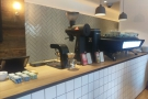 ... get some coffee, in this case from the Origin espresso bar on Euston Road...