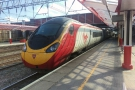 Then I swapped Virgin Atlantic for Virgin Trains, first catching a Pendolino to Crewe...