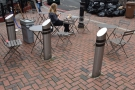 ... and four more in amongst the bollards to the right.