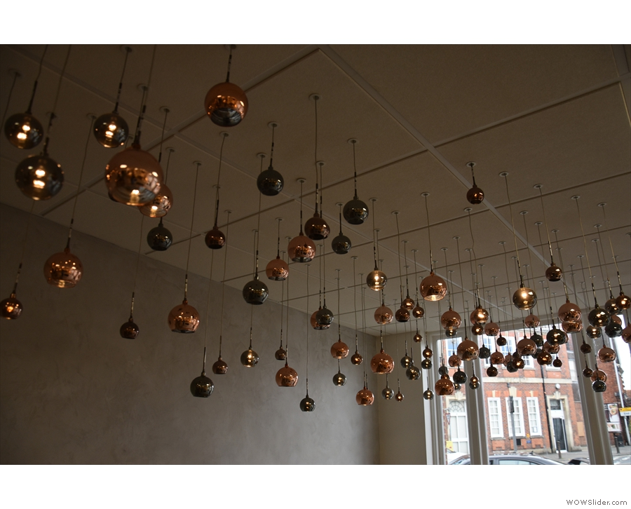 ... and lots and lots of light fittings.