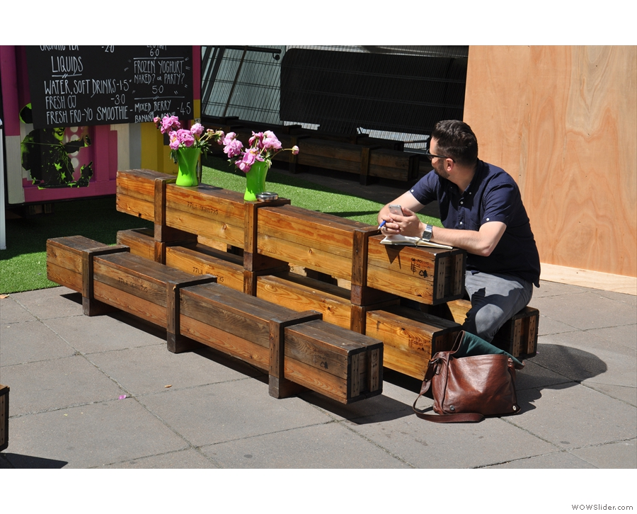 Those old tables/benches though? They haven't gone very far...