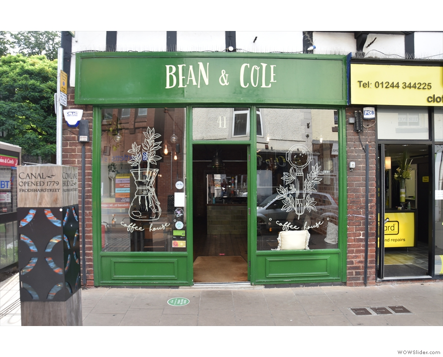 Bean & Cole, as seen on a sunny summer day in 2020...