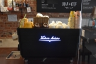 ... as far as the Victoria Arduino White Eagle espresso machine.