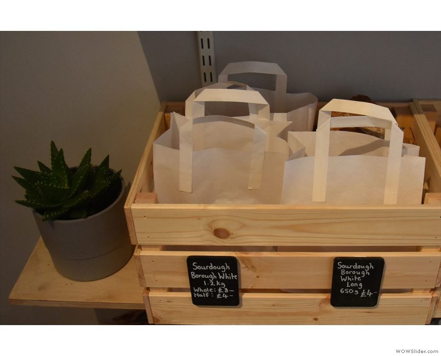 ... a new addition is the bread from London's The Bread Factory.