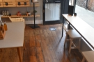 ... and back along the front of Koja to the door.